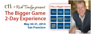 CTI Presents The Bigger Game