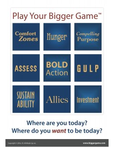 WEBINAR: Find Your Bigger Game (Part 2)